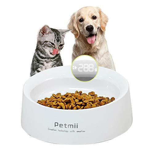 Control preciso         El crecimiento saludable de su mascota está estrechamente relacionado con la dieta diaria.            155 g de alimentación de precisión      Potente antibacteriano      Ángulo de alimentación perfecto      Plástico de...