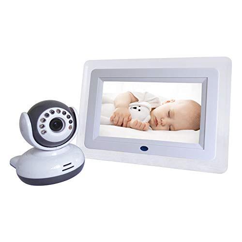 DANRAN Video Baby Monitor, Monitor HD con Monitor Video Wireless per Visione Notturna, videocitofono intercom a Due Voci, Dispositivo per la Cura del Bambino