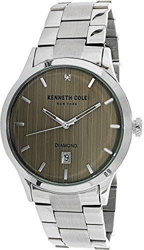 Kenneth Cole Men's Casual watch KC15113005 Beige Stainless-Steel Quartz Fashion Watch