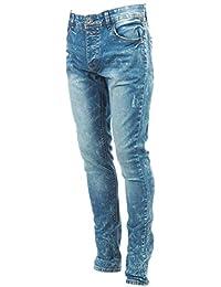 Rivaldi black - Castalin denim jeans skin - Pantalon jeans
