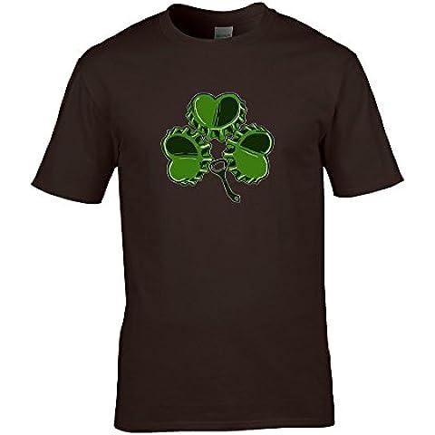 SHAMROCK Irish Ale BEERTOP-da FatCuckoo Maglietta da uomo - Irish Ale