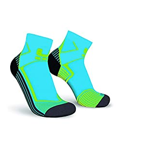 Oxyburn Kinder Run Evobright Half Cut Energizer Compression Socken