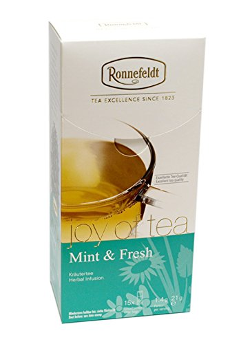 "Ronnefeldt Mint & Fresh ""joy of tea"" – Kräutertee, 15 Teebeutel, 21 g"