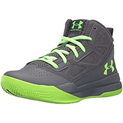 Under Armour Ua Bgs Jet Mid, Zapatillas de Baloncesto para Niños, Gris (Stealth Gray 008), 6.5 Big Kid M