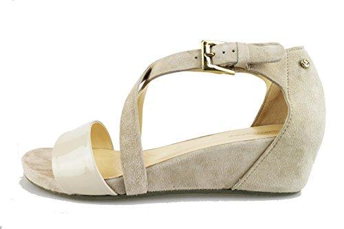 SAMSONITE sandali donna beige / nero camoscio (39 EU, Beige)
