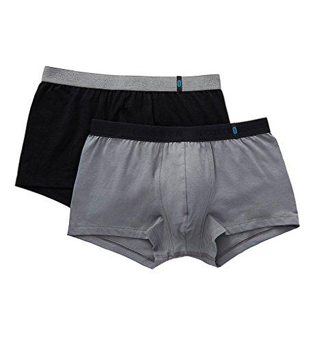 Schiesser 95/5 New Pants 4er Pack sortiert: black, grey