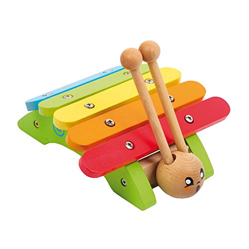 Voggenreiter Musik für Kleine 767 Holzspielzeug Rappel-Schnecke