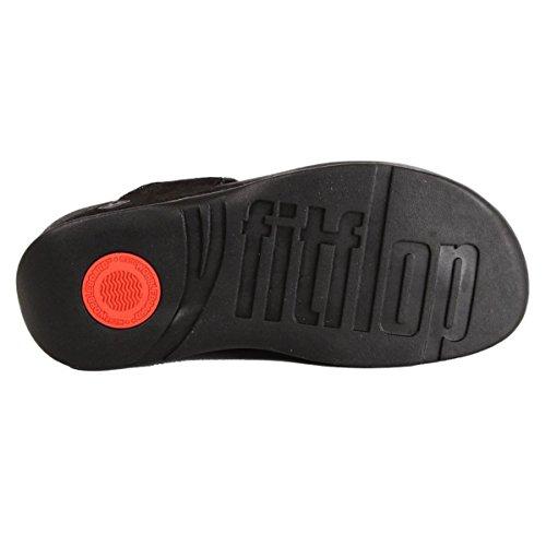 FitFlop Damen Novy Tm Zehentrenner All-Black 2ruXpl