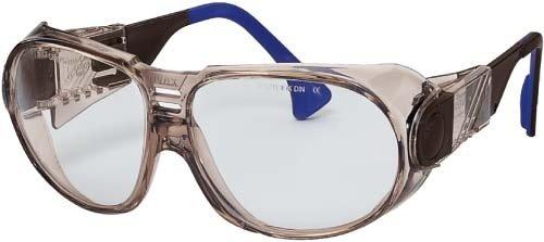 UVEX Schutzbrille futura braun-transparent