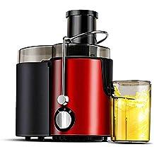 Exprimidor eléctrico Big Mouth Juice Extractor, 400 vatios, Exprimidor silencioso y Prensa fría con