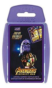 Winning Moves-Top Trumps Avengers Infinity War, 0428, Version Francesa