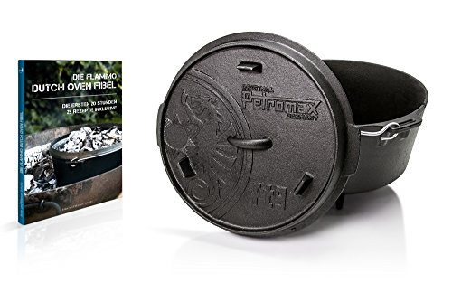 Petromax Feuertopf ft9 mit flammo Dutch Oven Fibel