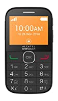 ALCATEL 20.04 G EASY PHONE CON BASETTA RICARICA ITALIA BLACK