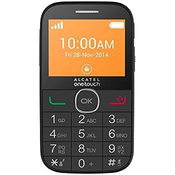 Alcatel One Touch  20-04G Telefono Cellulare, Nero