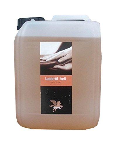 Lederöl hell Kanister, 5000 ml 5 Liter für Glattleder aller Art