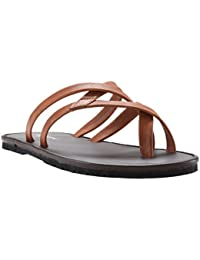 Franco Leone Men's Leather Sandals And Floaters