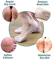 Silicone Socks Foot Chapped Care Tool Moisturizing Gel Heel Socks Cracked Skin Care Protector