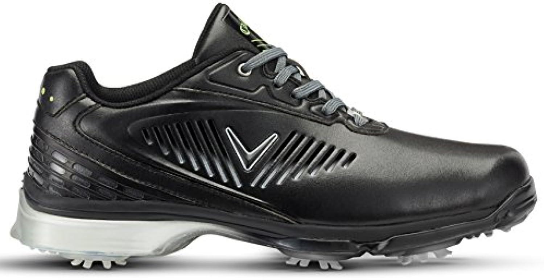 Callaway Xfer Nitro Zapatillas de Golf, Hombre, Negro (Black), 44.5 EU