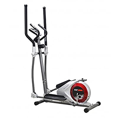 Techfit E310 EVO Elliptical Bike, Cross Trainer for Home, Weight Loss Machine, for Cardio and Fitness Exercises, Magnetic Resistance Device Fit for Indoor Spaces by Techfit