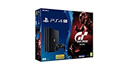 Sony PlayStation 4 Pro + GT Gran Turismo Sport 1000GB Wifi Negro - Videoconsolas (PlayStation 4 Pro, Negro, 8000 MB, GDDR5, AMD Jaguar, AMD Radeon)