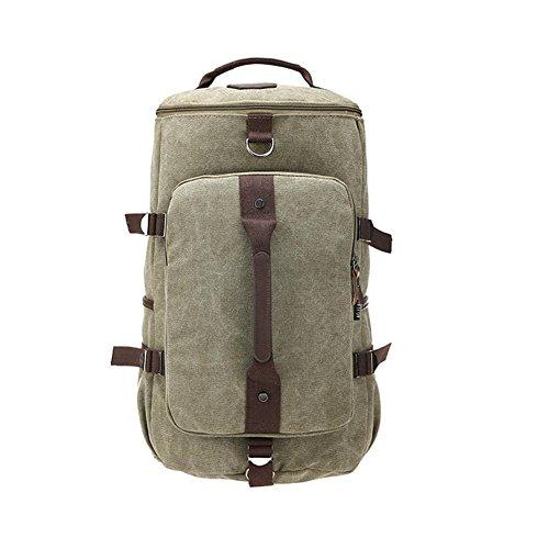 SZH&BEIB Fashion Canvas Rucksack Unisex im Freien Spielraum Lässige Daypack Laptop-Taschen für die Schule A