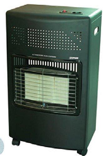 Zephir ZGS4210 Exterior Verde 4200W Calentador eléctrico infrarrojo - Calefactor (Calentador eléctrico infrarrojo, Exterior, Piso, Verde, Metal, 4200 W)