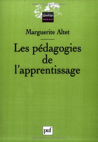 Les pédagogies de l'apprentissage par Marguerite Altet