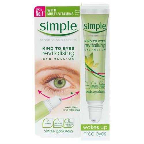 Revitalisierende Waschen (Einfache Art zu Augen Revitalisierende Eye Roll On 15ml Fall von 6)
