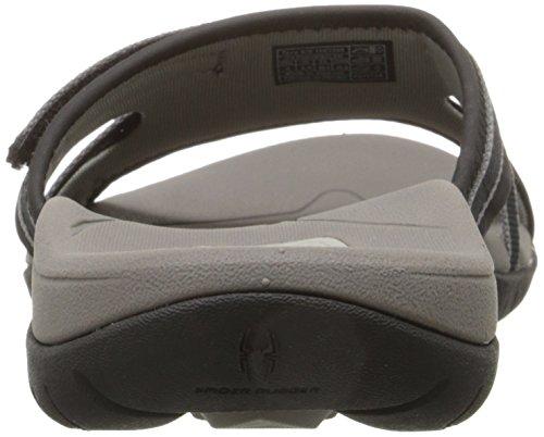 Teva Women's Tirra Slide Sandal,Black,10 M US Black