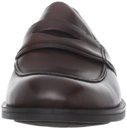 Ecco Birmingham Slip On, Mocassins homme Marron - Rouille