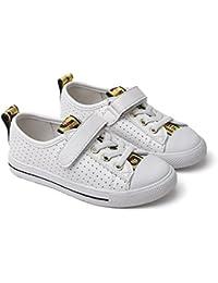 HXD - Zapatillas de críquet de Material Sintético para niña