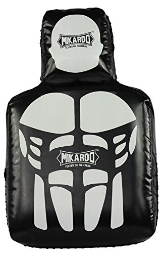 Mikardo Anti-Rip RIPP-TECH Muay Thai Kickboxen MMA Punching Kicking Treking Target Man Shield Pad -