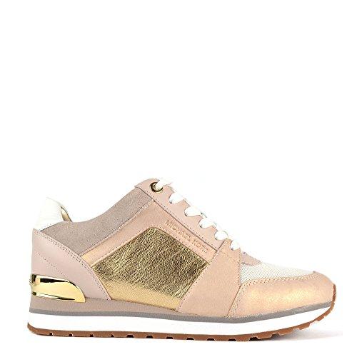 michael-by-michael-kors-billie-zapatillas-rosa-oro-mujer-39-eu-rosa