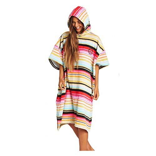 BILLABONG Womens Hooded Changing Robe/Poncho Serape