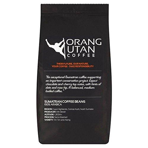 Orang Utan Sumatra-Kaffee Kaffeebohne (227g) - Packung mit 2
