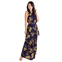ميلا لندن فستان ايه لاين للنساء ، مقاس 8 UK ، كحلي ، ML4783