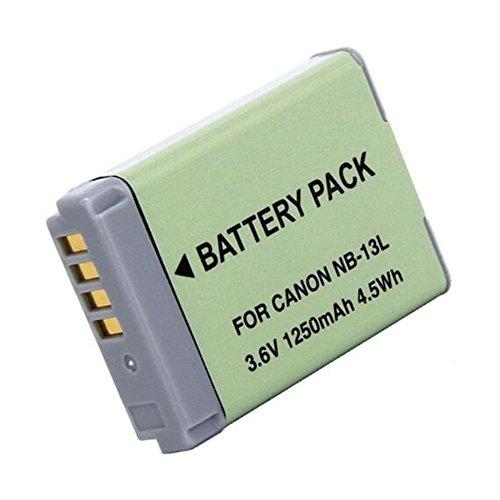 1 pcs 1250 mAh NB-13L NB13L Batterie pour Canon G5X G7X G7X Mark II G9X SX620 HS SX720 HS caméra
