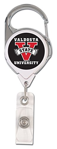 Valdosta State University Premium Badge Reel ID Holder -