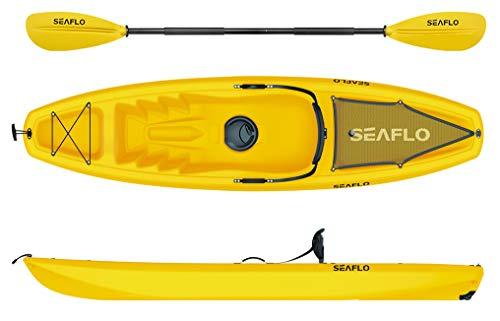 Seaflo Sit on Top - Kayak Pala Soporte caña Pescar
