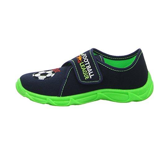 Sneakers ROBERT175/06A1 Jungen Hausschuh Kaltfutter Blau (Blau)