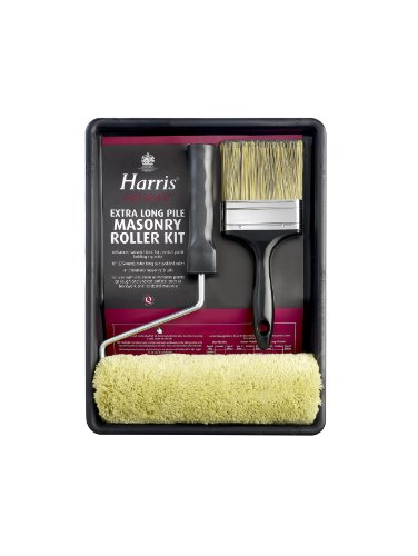 L.G Harris 4443 Set mit Farbrolle und Malerpinsel