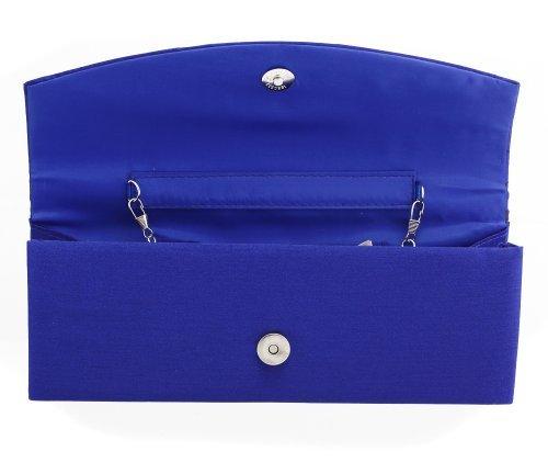 Fashion4Young, Poschette giorno donna (ML817-Blau)