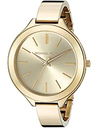 Michael Kors Analog Champagne Dial Women's Watch - MK3275