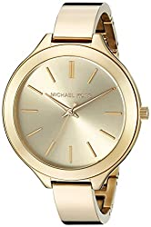 Michael Kors Analog Champagne Dial Womens Watch - MK3275
