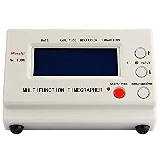 TOPQSC Multifunction Timegrapher Mechanical Watch Timing Machine Tool Tester (No.1000)