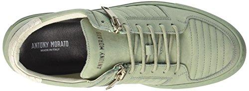 Antony Morato Mmfw00904-le300004, Sneaker Uomo Verde (vert Sauge)