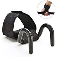 RUNGAO Gewichthebergürtel mit Haken zum Trainieren von Gewichtheben, Metallgriffe, Handschuhe, Klimmzug-Handgelenkstütze... preisvergleich bei billige-tabletten.eu