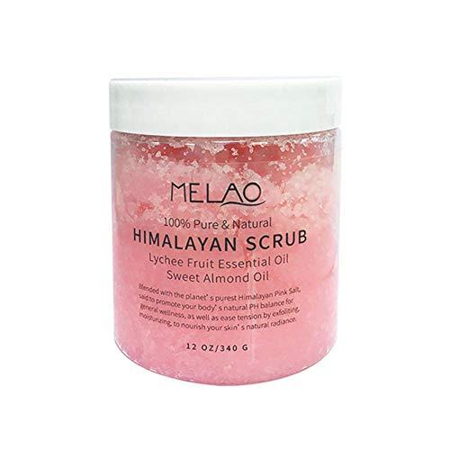 Bulary Himalayan Salt Deep Cleansing Peeling-Creme Peeling-Creme aus dem Toten Meer Peeling-Creme für das Peeling & Feuchtigkeitspflege für Gesicht, Hände, Körper & Akne -