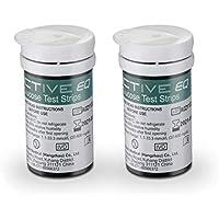 HARPIMER Glucosa en Sangre Kit Tiras de Prueba 50 Piezas de Monitor de azúcar en Sangre