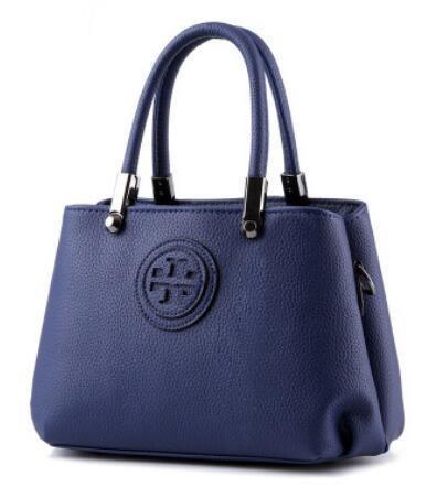 HQYSS Borse donna In pelle coreana PU Croce corpo donna tracolla Messenger Handbag , pink treasure blue
